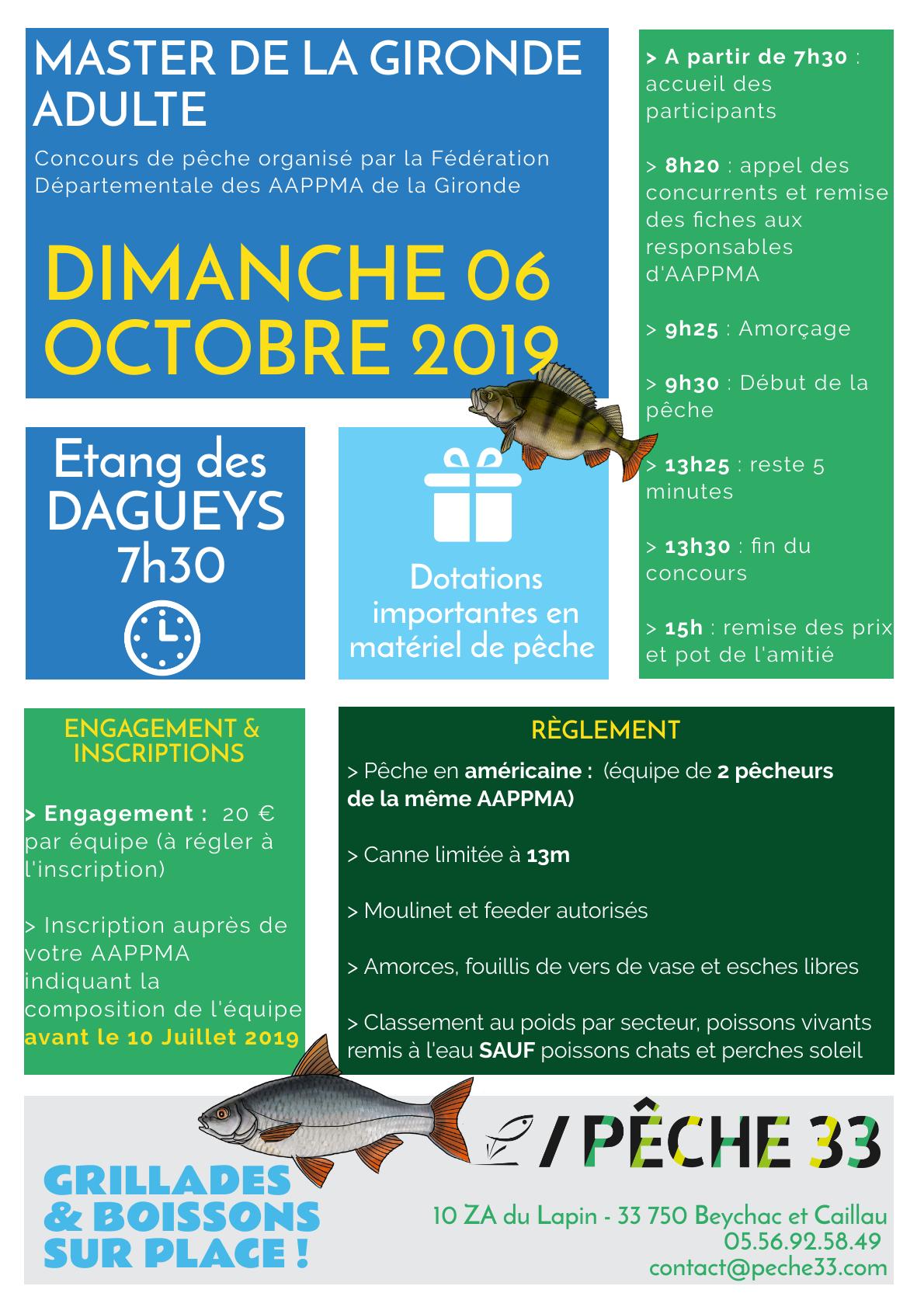 Ffpsc Calendrier 2019.Peche En Gironde 33